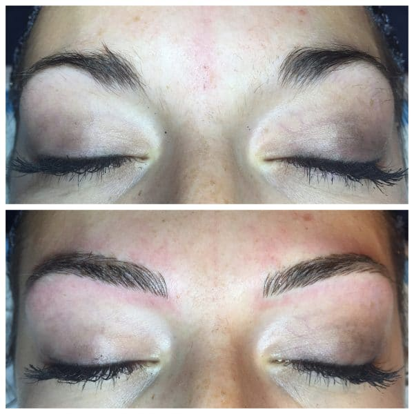 bailey front view microblading