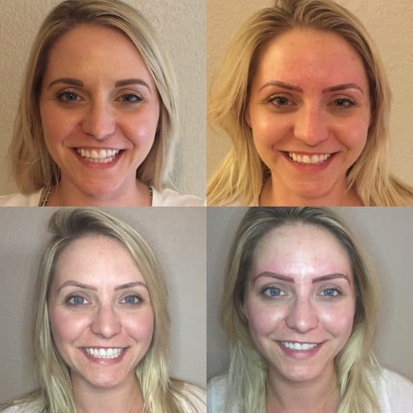 tiffany full microblading process