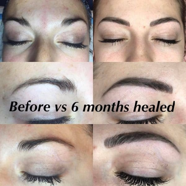 The Entire Microblading Healing Process Day By Day With Pictures