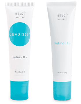 obagi retinol review side by side