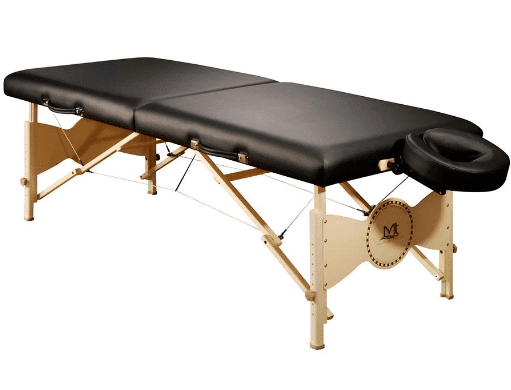 portable massage bed for microblading