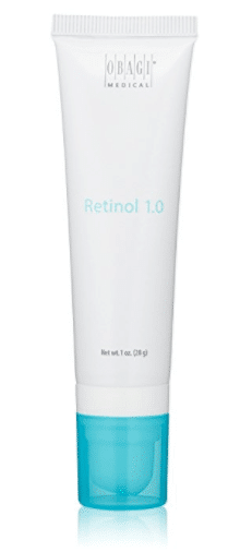 Obagi retinol for skin tightening and firming