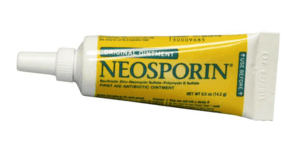 neosporin shouldn't be used to treat acne